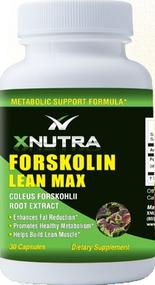 xnutra forskolin lean max